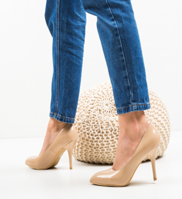 Pantofi Rura Bej
