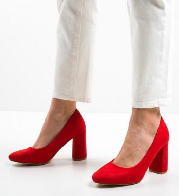 Pantofi Semna Rosii