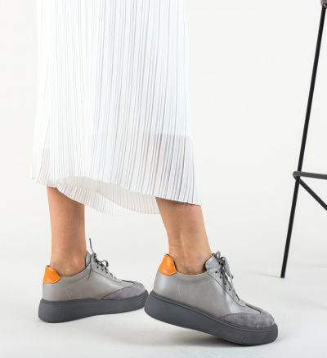 Pantofi Sport Amrit Gri
