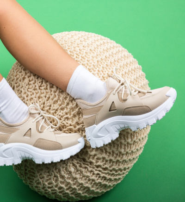 Pantofi Sport Grady Bej