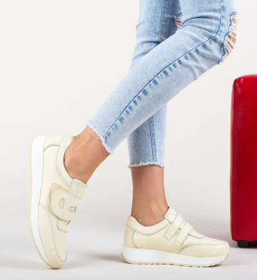 Pantofi Sport Hoffman Bej