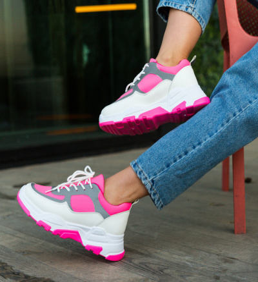 Pantofi Sport Kros Fuchsia