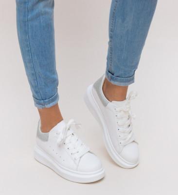 Pantofi Sport Queen Argintii