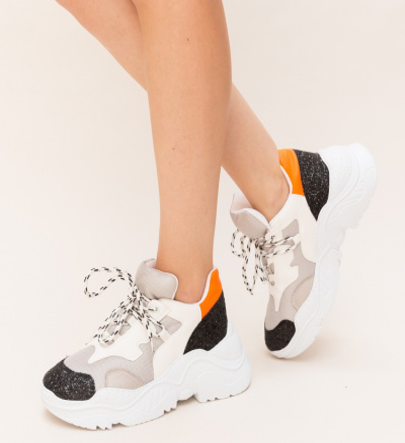 Pantofi Sport Riky Portocalii