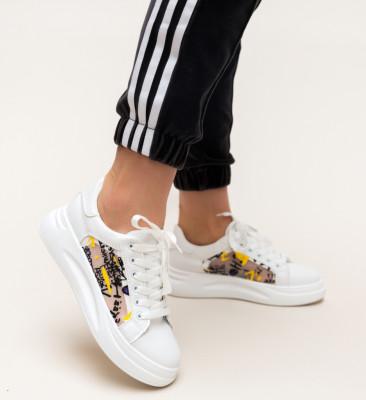 Pantofi Sport Shiral Albi