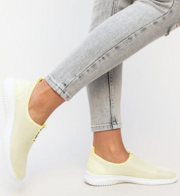 Pantofi Sport Zohas Galbeni