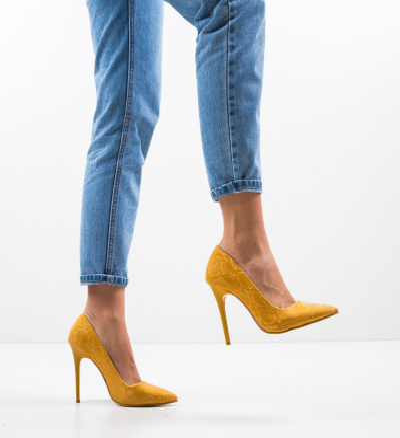 Pantofi Stormwind Galbeni