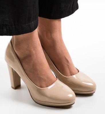 Pantofi Tregaza Bej