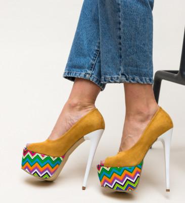 Pantofi Tristar Galbeni