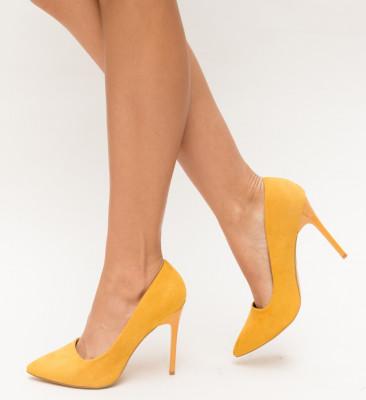 Pantofi Vivo Galbeni