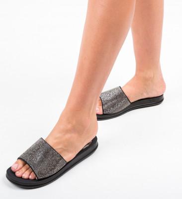 Papuci Alogas Gri