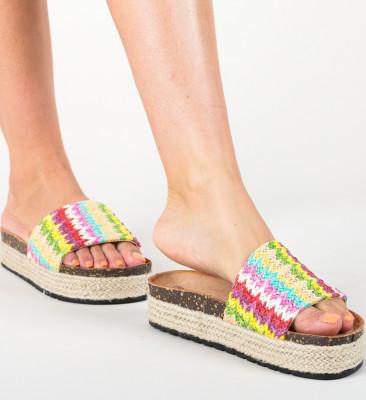 Papuci Arjano Rosii
