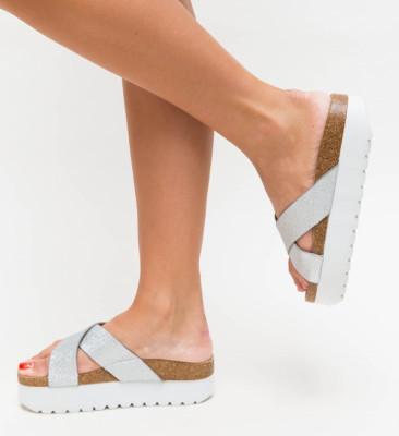 Papuci Simera Argintii