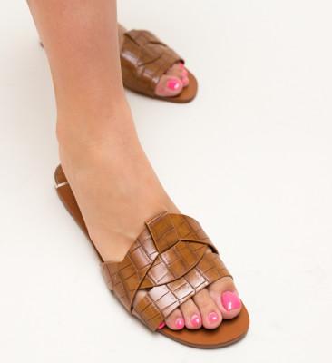Papuci Zagara Camel
