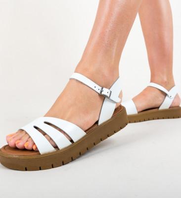 Sandale Afganis Albe