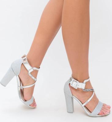 Sandale Bixon Argintii