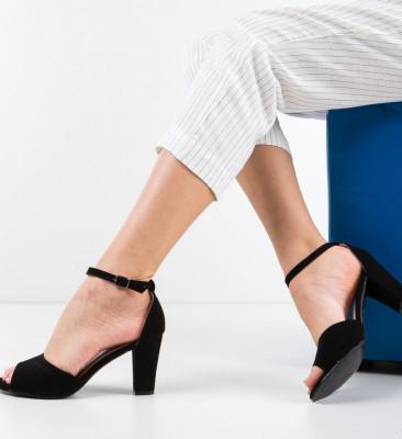 Sandale Blanc Negre 3