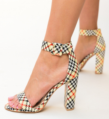 Sandale Blunda Galbene
