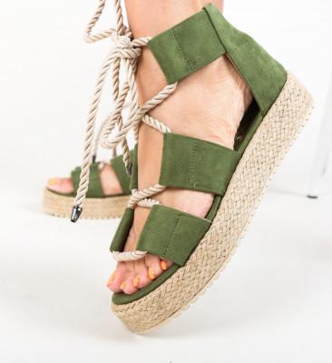 Sandale Boxero Verzi