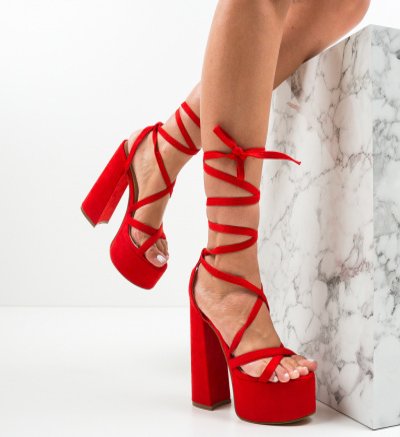 Sandale Cullen Rosii