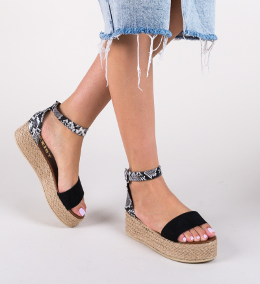 Sandale Delmar Negre 2