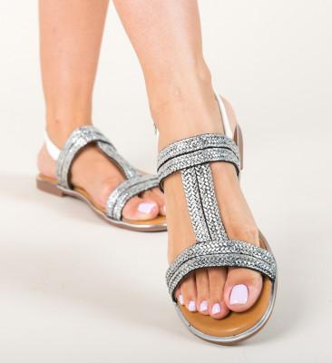 Sandale Egipt Argintii