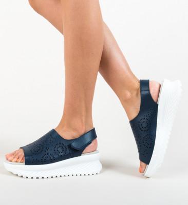 Sandale Iris Bleumarin