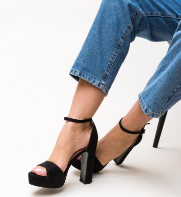 Sandale Lilana Negre