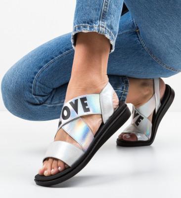 Sandale Lovers Argintii