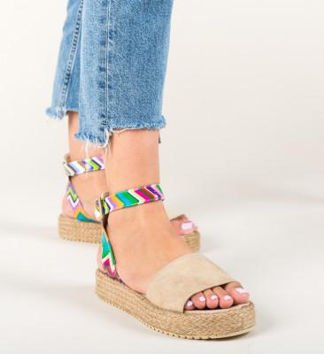 Sandale Mikiom Bej