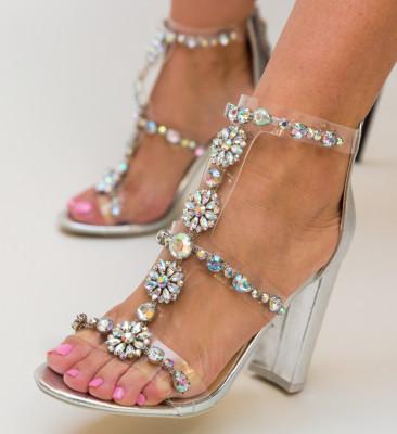 Sandale Mocanio Argintii