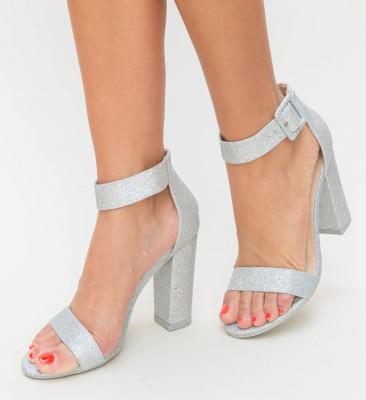 Sandale Moda Argintii