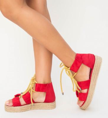 Sandale Nataly Rosii