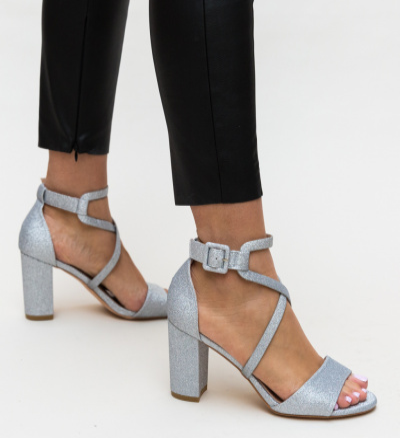 Sandale Obranio Argintii