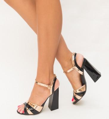 Sandale Panter Negre