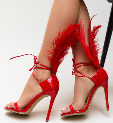 Sandale Pawn Rosii