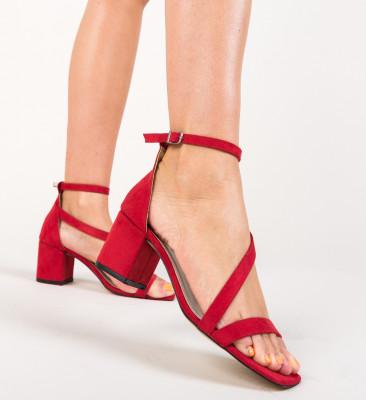 Sandale Piruna Rosii