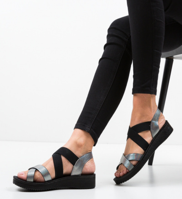 Sandale Ridley Gri 3
