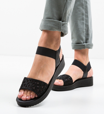 Sandale Sundey Negre