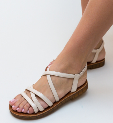 Sandale Toyah Bej