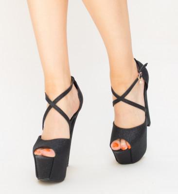 Sandale Trolex Negre 2