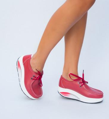 Pantofi Casual Heliade Rosii