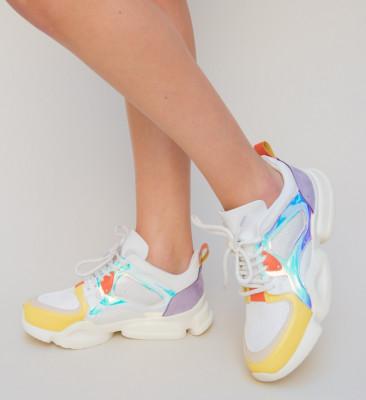 Pantofi Sport Simfon Galbeni