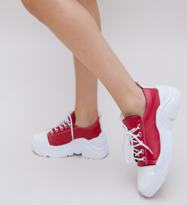 Pantofi Sport Limbo Rosii