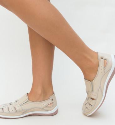 Pantofi Casual Romeo Bej
