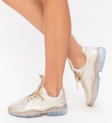 Pantofi Sport Lovisa Aurii