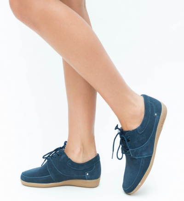 Pantofi Casual Solio Bleumarin