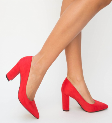 Pantofi Genta Rosii