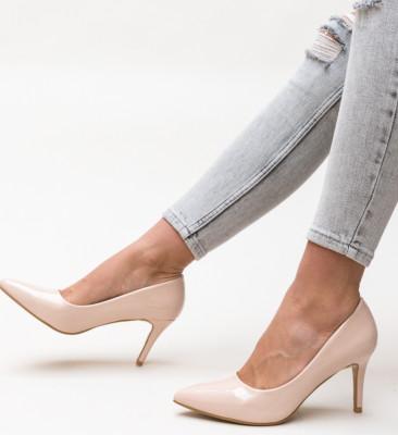 Pantofi Zeno Nude