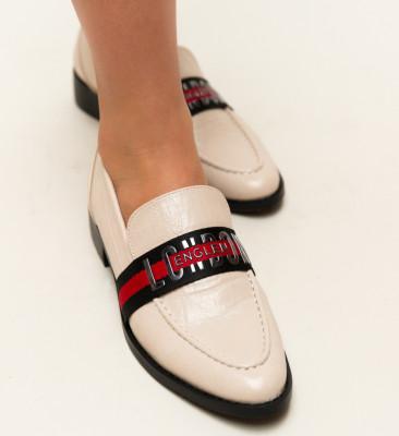 Pantofi Casual Menna Nude